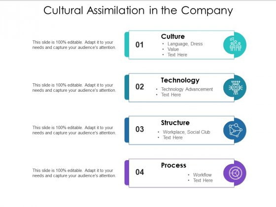 Cultural Assimilation In The Company Ppt PowerPoint Presentation Summary Mockup PDF