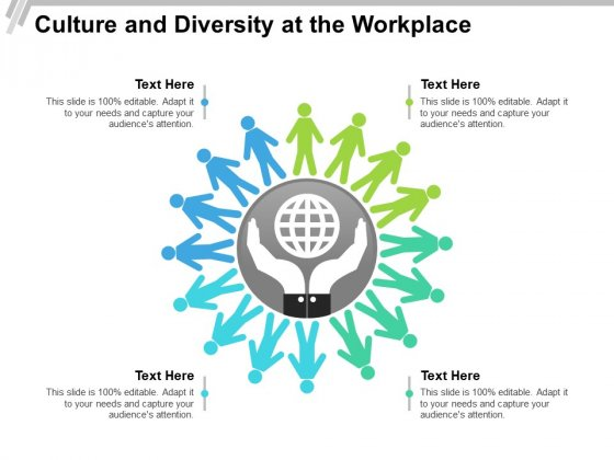 Culture And Diversity At The Workplace Ppt PowerPoint Presentation Pictures Slide PDF