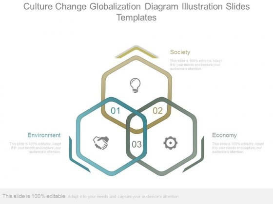 Culture Change Globalization Diagram Illustration Slides Templates