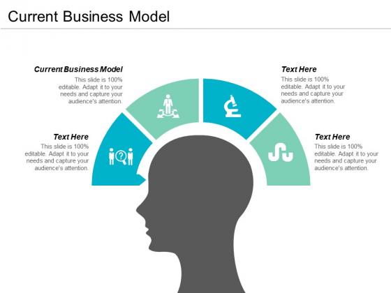 Current Business Model Ppt PowerPoint Presentation Styles Portfolio Cpb