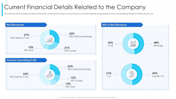 Current Financial Details Related To The Company Ppt Pictures Structure PDF