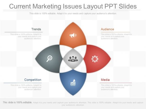 Current Marketing Issues Layout Ppt Slides