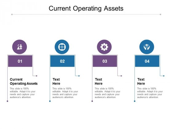 Current Operating Assets Ppt PowerPoint Presentation Ideas Summary Cpb