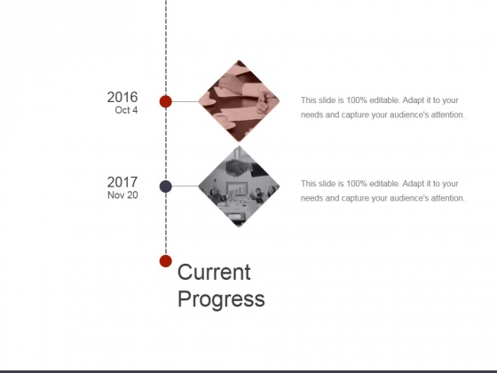 Current Progress Ppt PowerPoint Presentation File Shapes