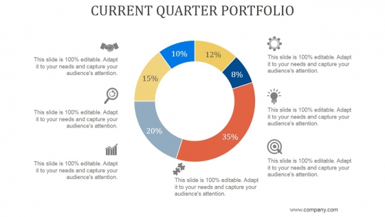 Current Quarter Portfolio Ppt PowerPoint Presentation Slide Download
