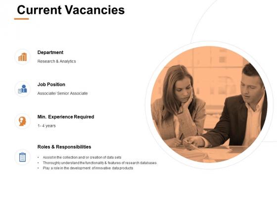 Current Vacancies Ppt PowerPoint Presentation Background Designs