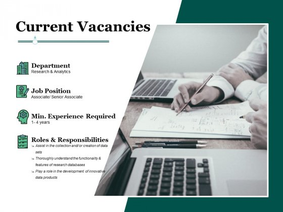 Current Vacancies Ppt PowerPoint Presentation Gallery