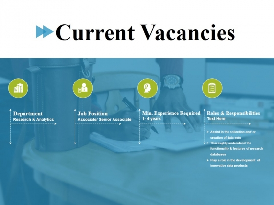 Current Vacancies Ppt PowerPoint Presentation Infographic Template Clipart Images