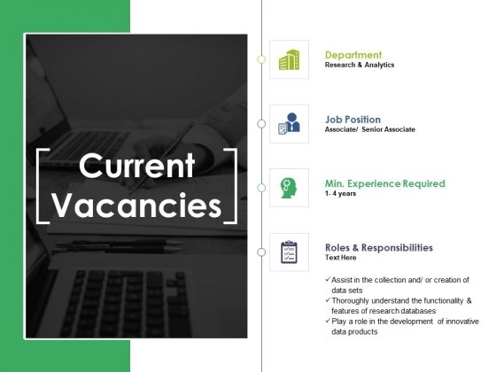 Current Vacancies Ppt PowerPoint Presentation Show File Formats
