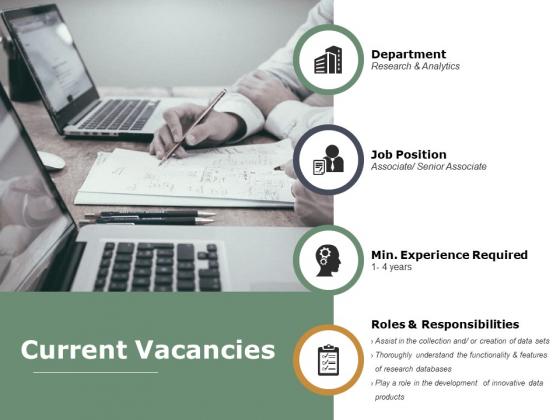 Current Vacancies Ppt PowerPoint Presentation Show Topics