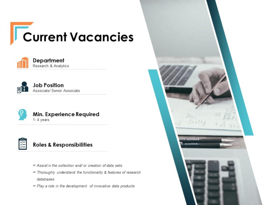 Current Vacancies Talent Mapping Ppt PowerPoint Presentation Outline Professional