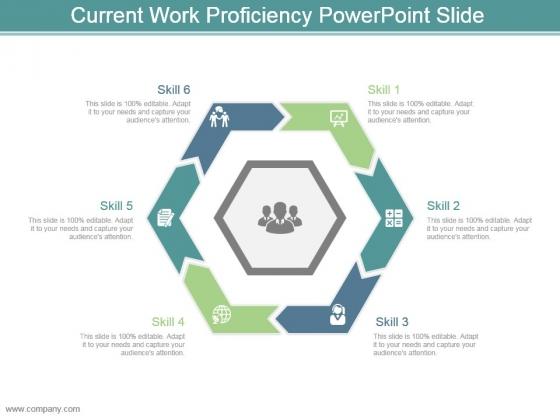 Current Work Proficiency Powerpoint Slide