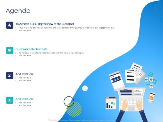 Customer 360 Overview Agenda Ppt Portfolio Background Designs PDF