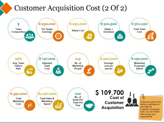 Customer Acquisition Cost Template 2 Ppt PowerPoint Presentation Portfolio Portrait