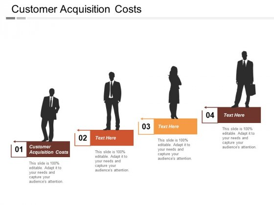 Customer Acquisition Costs Ppt PowerPoint Presentation Icon Visuals Cpb