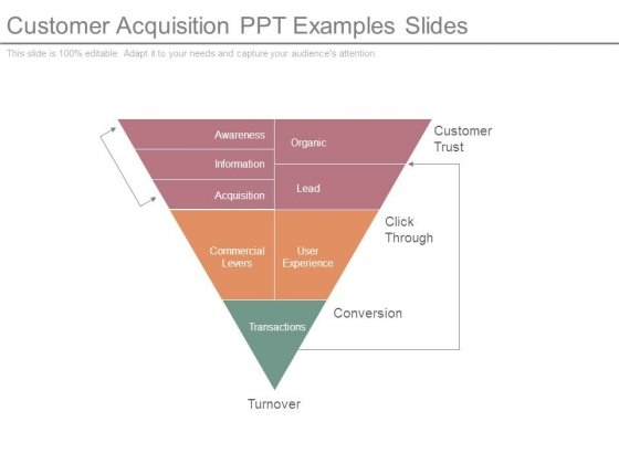 Customer Acquisition Ppt Examples Slides