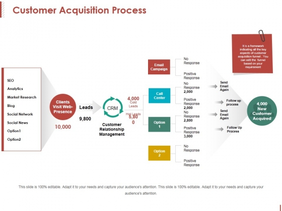 Customer Acquisition Process Ppt PowerPoint Presentation Professional Show