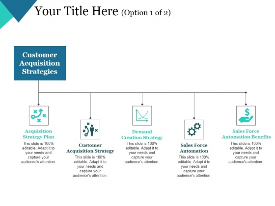 Customer Acquisition Strategies Template 1 Ppt Powerpoint
