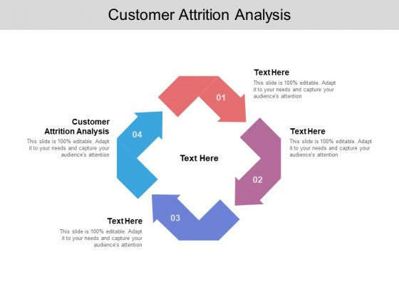 Customer Attrition Analysis Ppt PowerPoint Presentation Icon Visual Aids Cpb Pdf