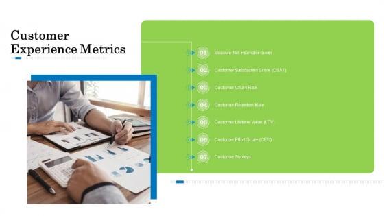 Customer Behavioral Data And Analytics Customer Experience Metrics Topics PDF