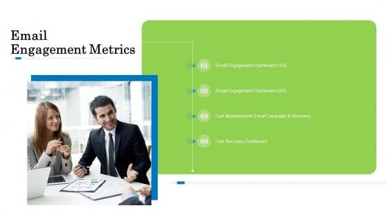 Customer Behavioral Data And Analytics Email Engagement Metrics Mockup PDF