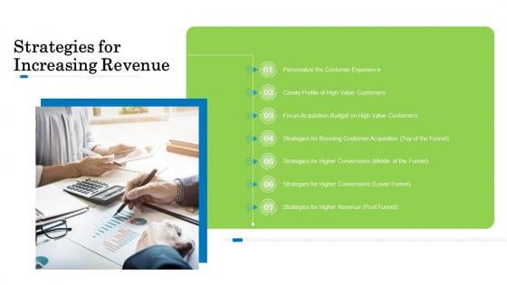 Customer Behavioral Data And Analytics Strategies For Increasing Revenue Background PDF