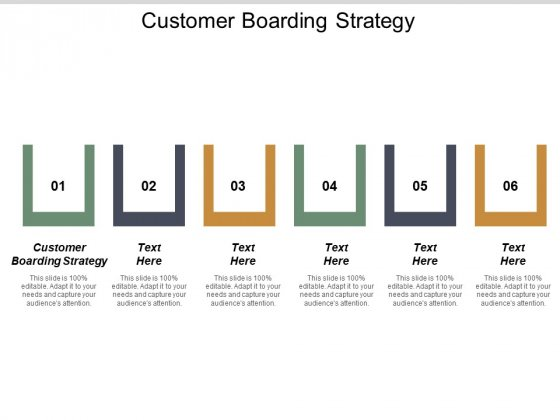 Customer Boarding Strategy Ppt PowerPoint Presentation Slides Graphic Images Cpb