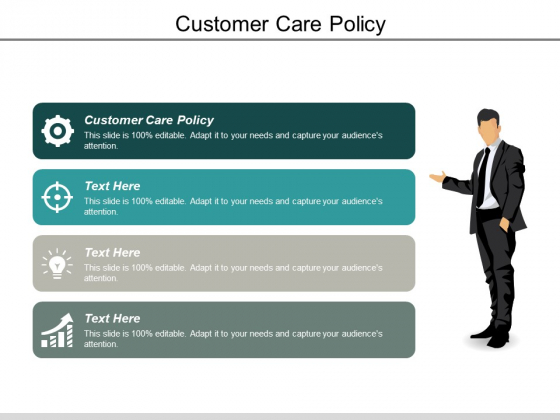 Customer Care Policy Ppt PowerPoint Presentation Icon Designs Download