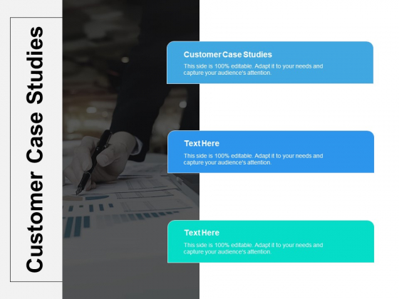 Customer Case Studies Ppt PowerPoint Presentation Infographic Template Visual Aids Cpb