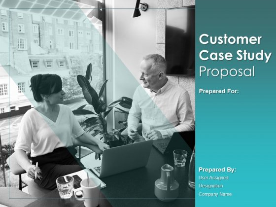Customer Case Study Proposal Ppt PowerPoint Presentation Complete Deck With Slides