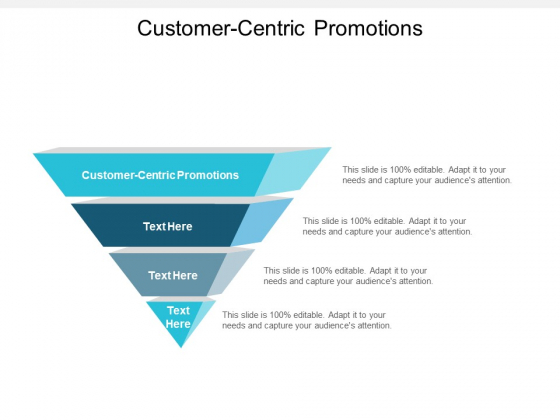 Customer Centric Promotions Ppt PowerPoint Presentation File Examples Cpb