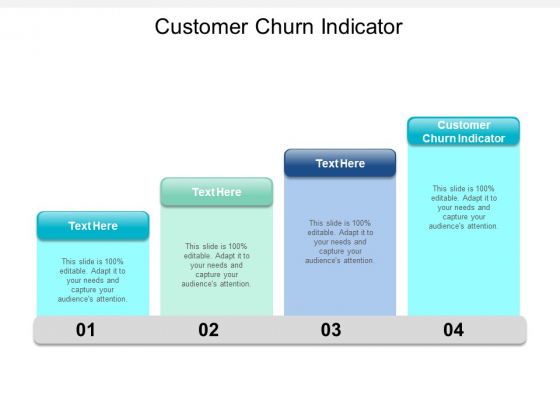 Customer Churn Indicator Ppt PowerPoint Presentation Infographic Template Designs Cpb