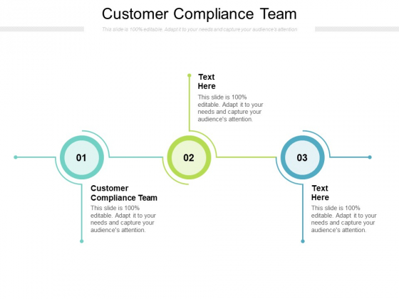 Customer Compliance Team Ppt PowerPoint Presentation Outline File Formats Cpb