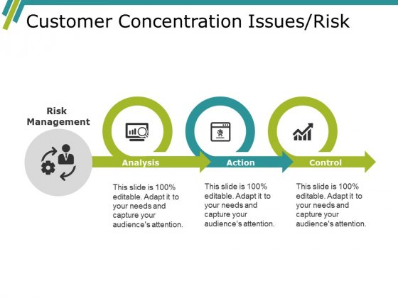 Customer Concentration Issues Risk Ppt PowerPoint Presentation File Inspiration