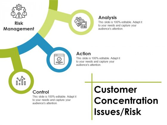 Customer Concentration Issues Risk Ppt PowerPoint Presentation Outline Show