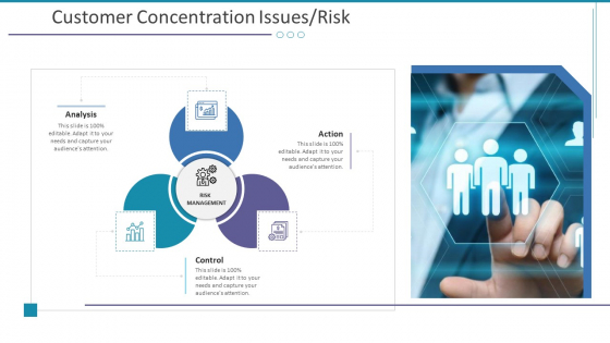 Customer Concentration Issues Risk Ppt Show Slide Download PDF