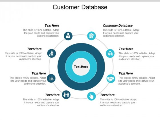 Customer Database Ppt PowerPoint Presentation Gallery Graphic Images Cpb