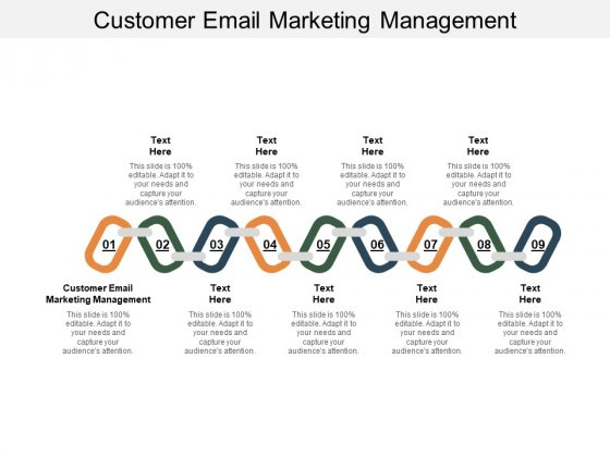 Customer Email Marketing Management Ppt PowerPoint Presentation Outline Example Cpb