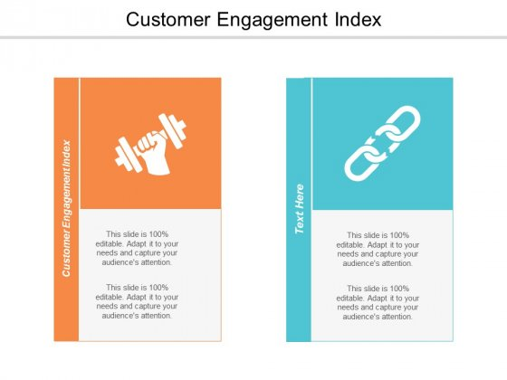 Customer Engagement Index Ppt Powerpoint Presentation Infographic Template Brochure Cpb
