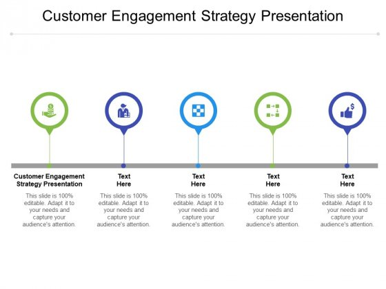 Customer Engagement Strategy Presentation Ppt PowerPoint Presentation Infographic Template Samples Cpb Pdf
