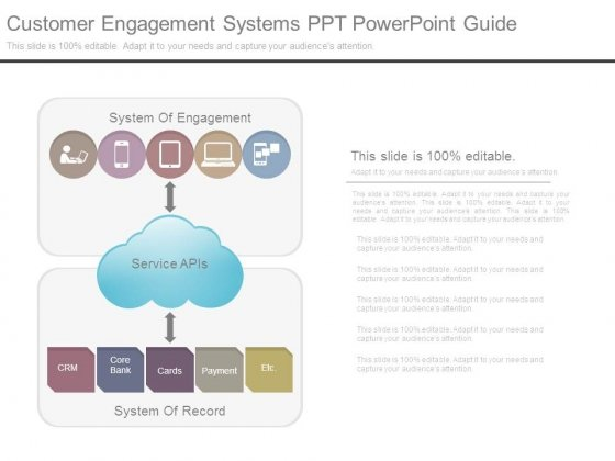 Customer Engagement Systems Ppt Powerpoint Guide