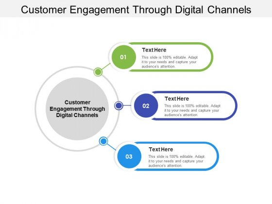 Customer Engagement Through Digital Channels Ppt PowerPoint Presentation Ideas Show Cpb Pdf
