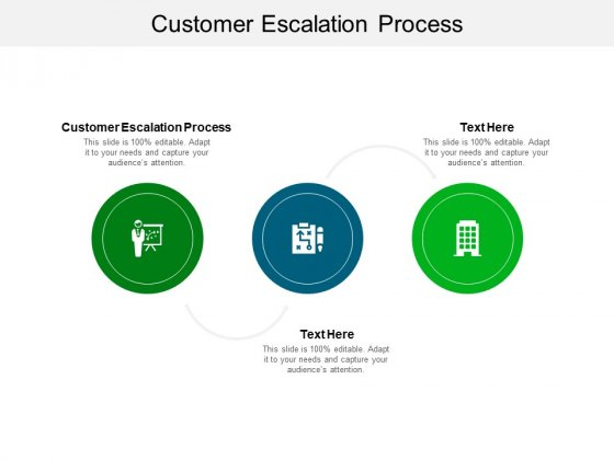 Customer Escalation Process Ppt PowerPoint Presentation Gallery Format Cpb Pdf