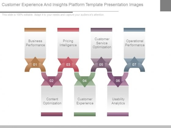 Customer Experience And Insights Platform Template Presentation Images