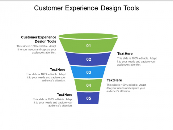 Customer Experience Design Tools Ppt PowerPoint Presentation Layouts Deck Cpb Pdf