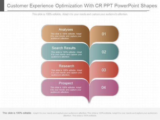 Customer Experience Optimization With Cr Ppt Powerpoint Shapes