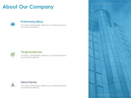 Customer Experience Process About Our Company Ppt Styles Slideshow PDF