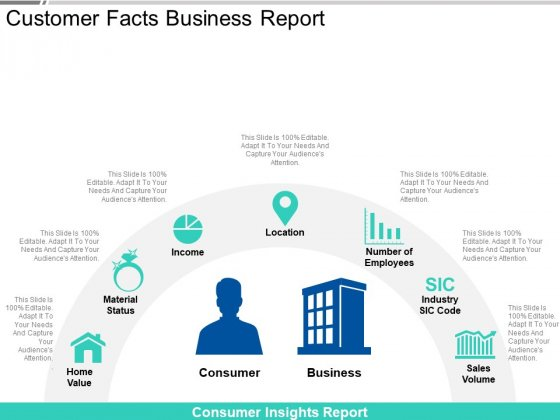 Customer Facts Business Report Ppt PowerPoint Presentation Styles Professional PDF