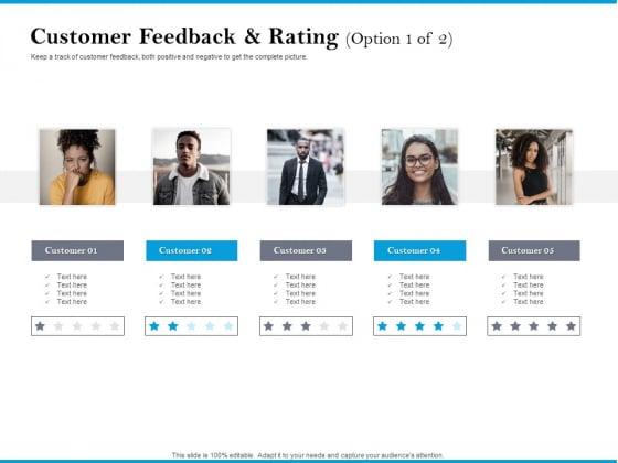 Customer_Feedback_And_Rating_Option_Customer_Portrait_PDF_Slide_1