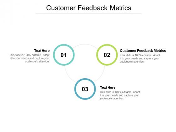 Customer Feedback Metrics Ppt PowerPoint Presentation Slides Example Introduction Cpb